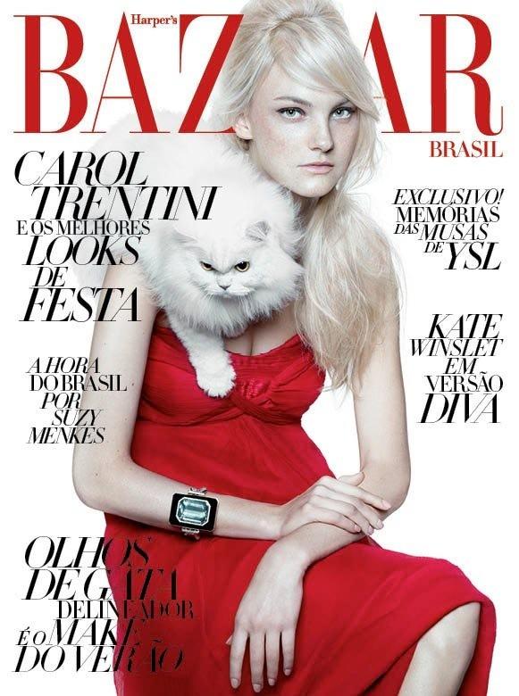 Обложки: C, Harper's Bazaar и Russh. Изображение № 2.
