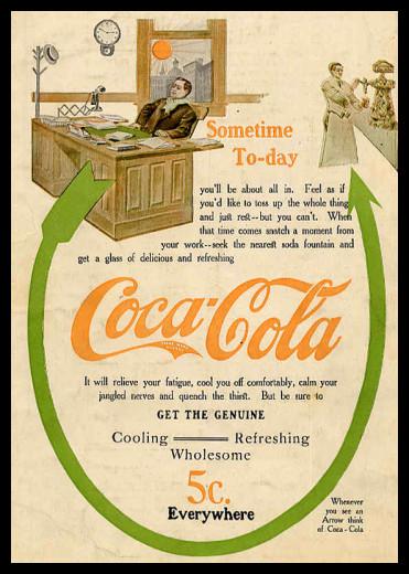 Изображение 6. Coca-cola – История бренда, история рекламы.. Изображение № 6.