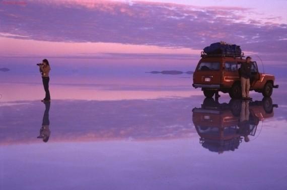 Изображение 5. Зеркало Земли - озеро Salar de Uyuni.. Изображение № 9.