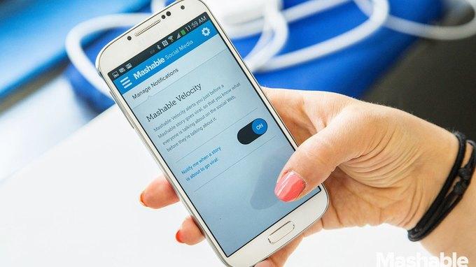 Сайт Mashable запустил своё приложение для смартфонов. Изображение № 1.