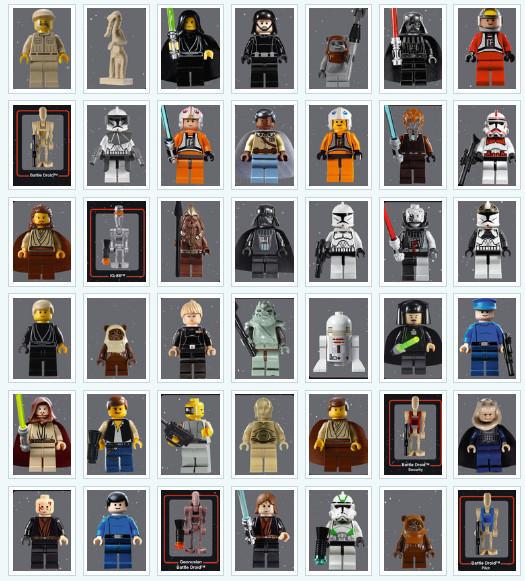 День Звездных Войн. Всеперсонажи Звездных войн отLego. Изображение № 3.