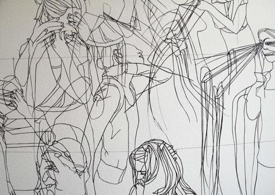 Художники, сделавшие проекты на грант, — Karla Black и Sandra Kuehne. Изображение № 11.
