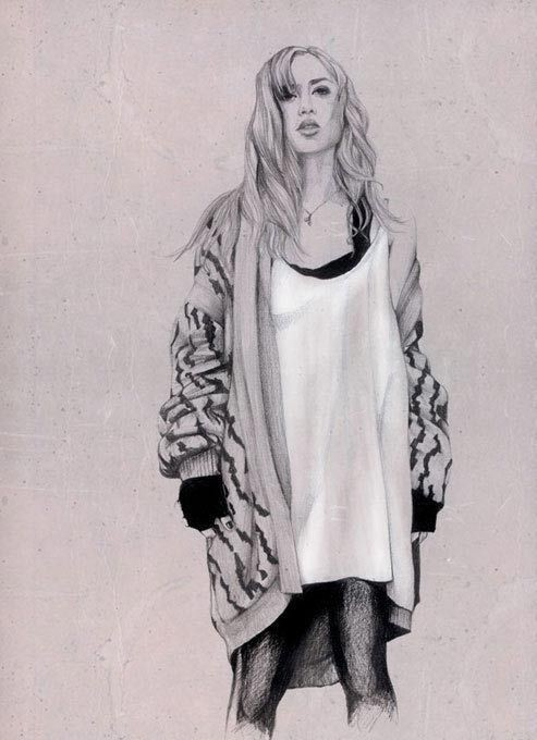 Изображение 22. Акварельные иллюстрации Caroline Andrieu.. Изображение № 22.