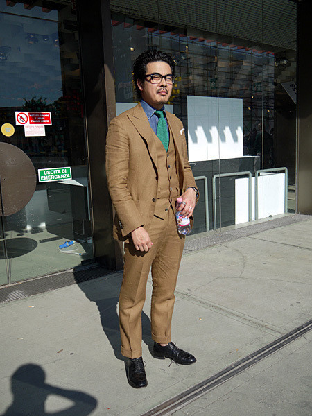 Изображение 23. Pitti Uomo, часть 1: дизайнерские павильоны и красиво одетые мужчины.. Изображение № 17.