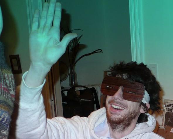 Узкоглазые деревянные очки. Изображение № 2.