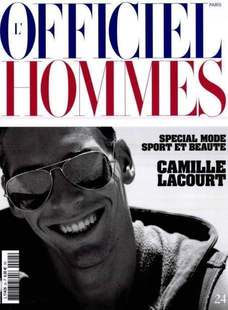 Изображение 3. Обложки: Carbon Copy, L'Officiel Hommes и Fiasco.. Изображение № 2.