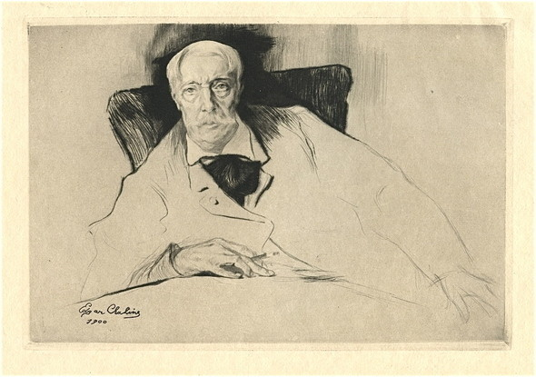 Edgar Chahine - Alfred Stevens. Изображение № 10.