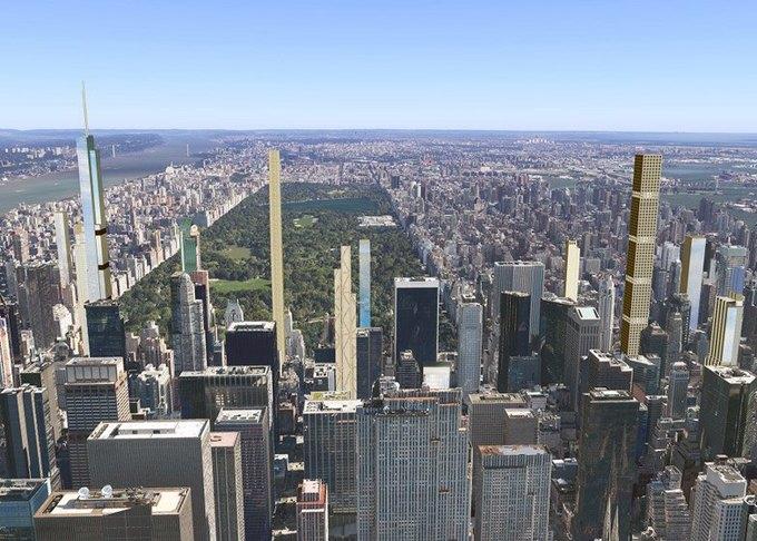 Концепт: как будет выглядеть Манхэттен в 2018 году. Изображение № 1.