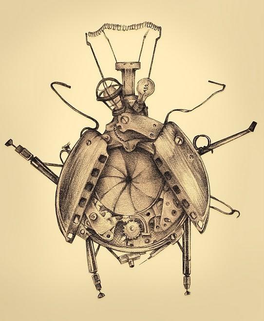 Женственный машинариум Джефри Ритчера. Изображение № 12.