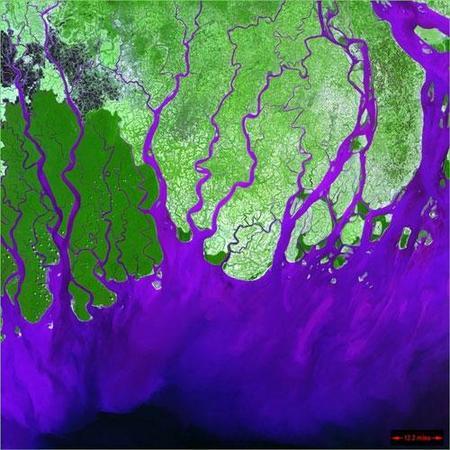 Фотографии Земли, снятые соспутников NASA. Изображение № 7.