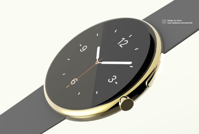 Концепт дня: круглые Apple Watch. Изображение № 2.