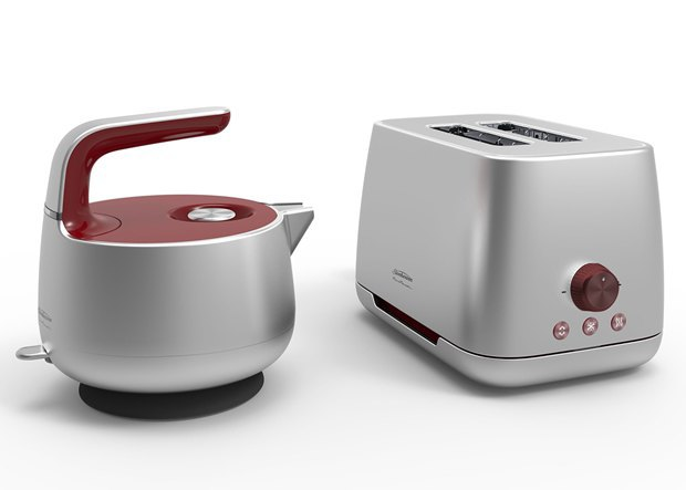Марк Ньюсон создал чайник и тостер. Изображение № 5.