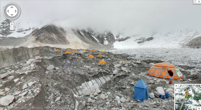 В Google Street View добавили Эверест и другие вершины. Изображение № 1.