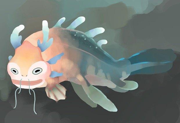 Анимация дня: японец, морской дух и груз прошлого. Изображение № 13.