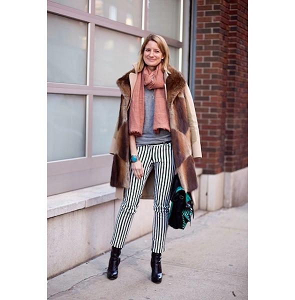 Изображение 19. На полях: 10 тенденций уличного стиля с прошедших недель моды.. Изображение № 19.