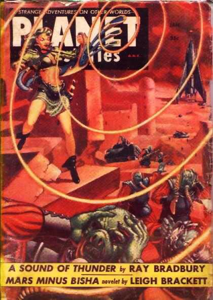 Космические обложки Pulp-журналов. Изображение № 21.