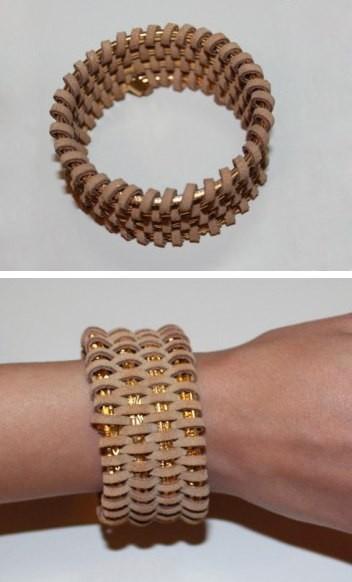 Плетёный браслет. Изображение № 5.