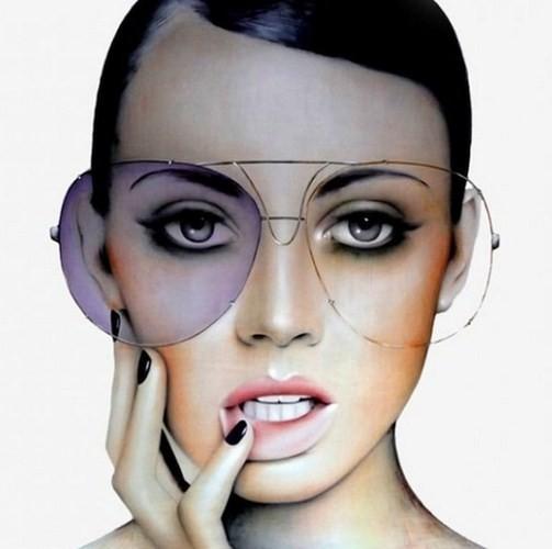 Фэшн-живопись, стилизованная под фотографии 70-х. Изображение № 3.