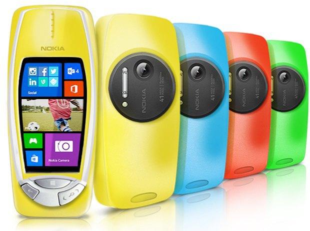 1 апреля: Nokia «возвращает» 3310 с 41-Мп камерой. Изображение № 1.