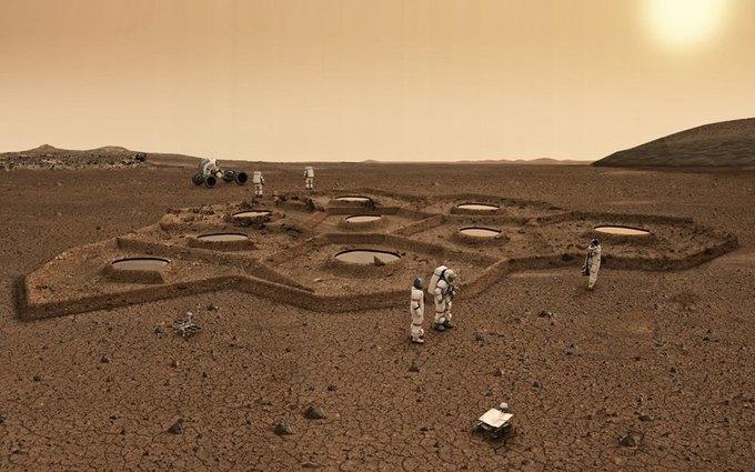 Марсианскую колонию могут построить роботы. Изображение № 10.