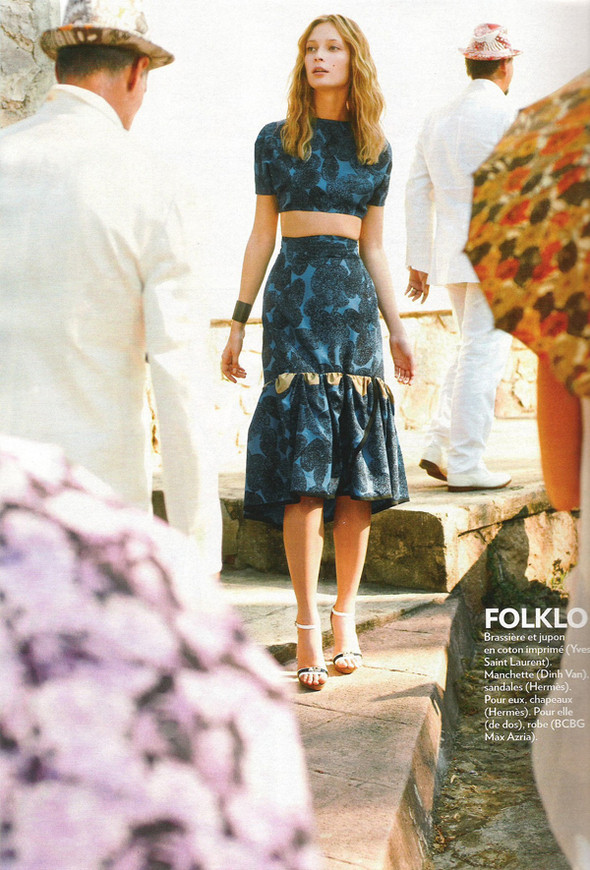 Изображение 103. Съемки: Harper's Bazaar, Industrie, Vogue и другие.. Изображение № 22.