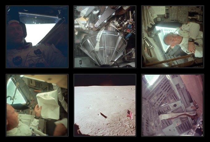 NASA выложили онлайн фотоисторию миссии «Аполло». Изображение № 7.