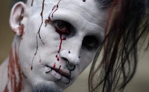 ВоФранкфурте прошел парад зомби. Изображение № 8.