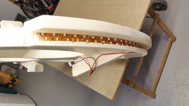Энтузиаст построил дрон в виде «Тысячелетнего сокола». Изображение № 22.