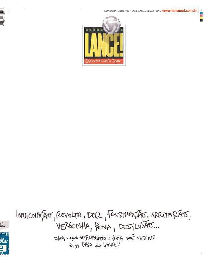 Lance!: «Негодование, гнев, боль, разочарование, раздражение, стыд, позор, обманутые надежды... Скажите, что вы чувствуете, и сделайте собственную обложку Lance!». Изображение № 5.