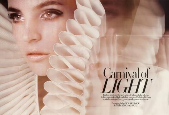 """Carnival oflight"" Harper's Bazaar June 2009. Изображение № 1."