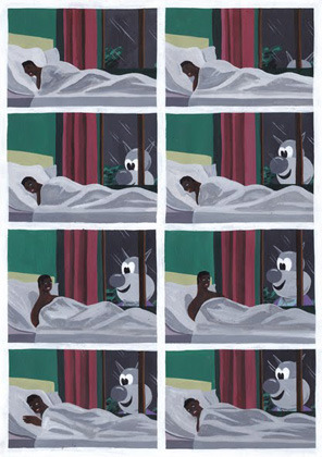 Босх 2.0: Иллюстрации-комиксы Брехта Ванденбрука. Изображение № 18.