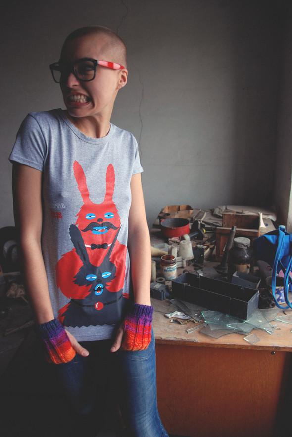 Изображение 7. SEKTA - Lookbook коллекции футболок Fructose Ramshank.. Изображение № 11.