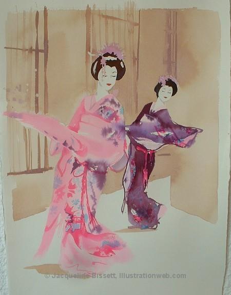 Иллюстратор Жаклин Биссет. Изображение № 6.