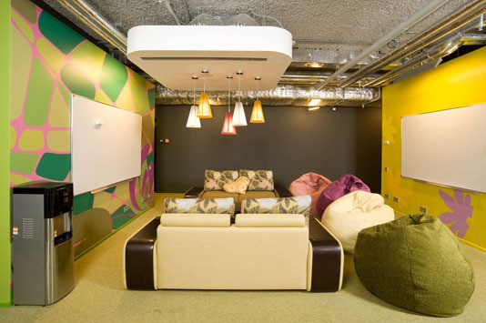 Google Moscow Office (арх. бюро CAMENZIND EVOLUTION) Архитектор: Т. Руэгг. Изображение №18.