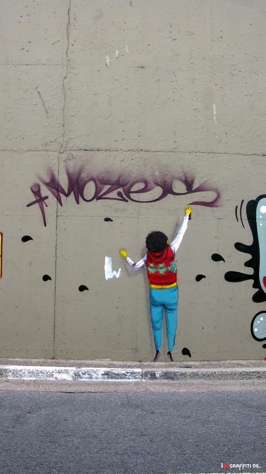 Граффити художники Os Gmeos о творческом пути. Изображение № 7.
