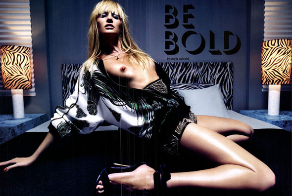 Candice Swanepoel для Vogue Italy, Март 2012. Изображение № 1.