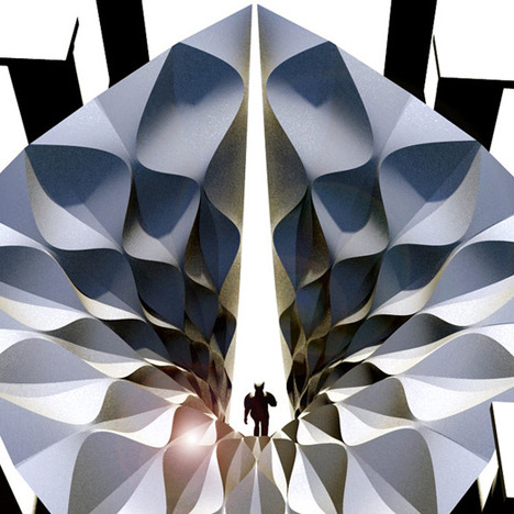 Инсталляция Захи Хадид для архитектурной биеннале. Изображение №1.