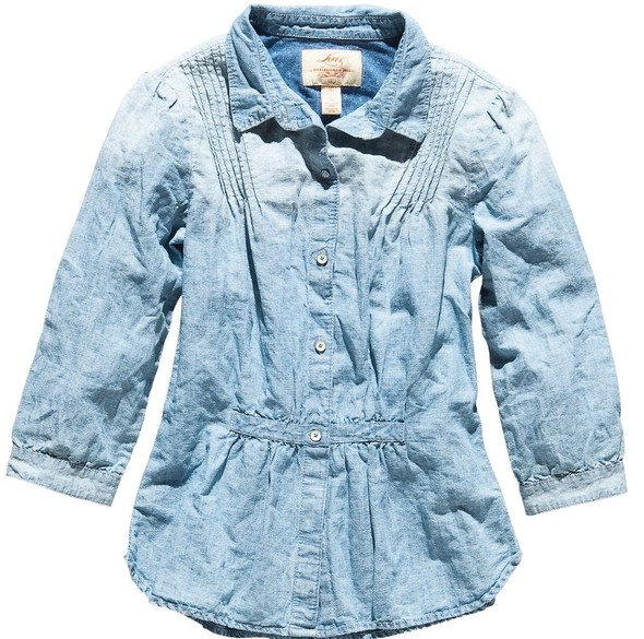 Джинсовое вдохновение: рубашка. Изображение № 18.