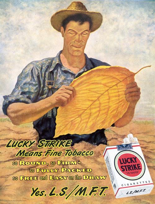 Винтажная реклама табака. Изображение № 12.