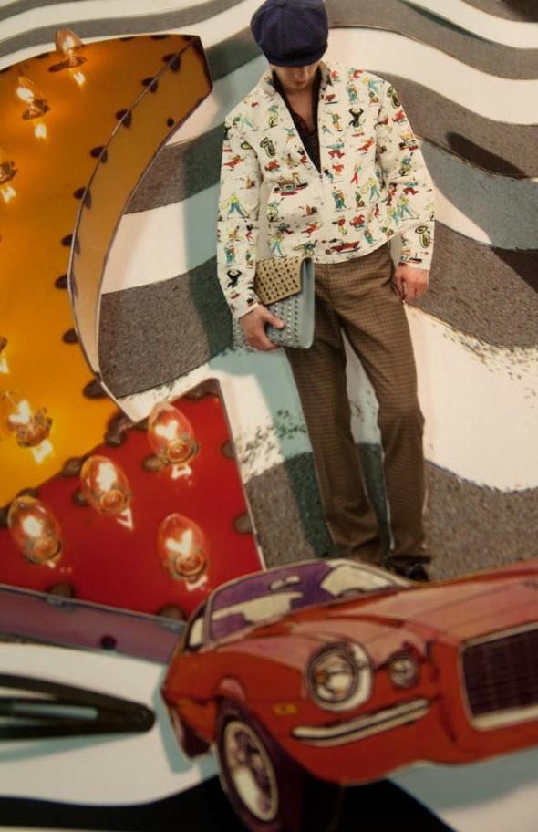 Лукбук: Prada Real Fantasies SS 2012. Изображение № 20.