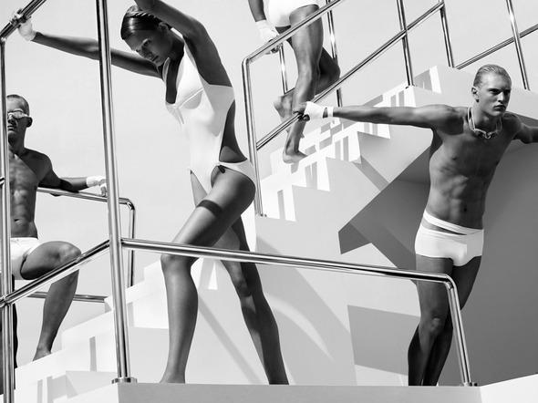 Быстрее, выше, сильнее: Модные съемки, вдохновленные спортом. Изображение №108.