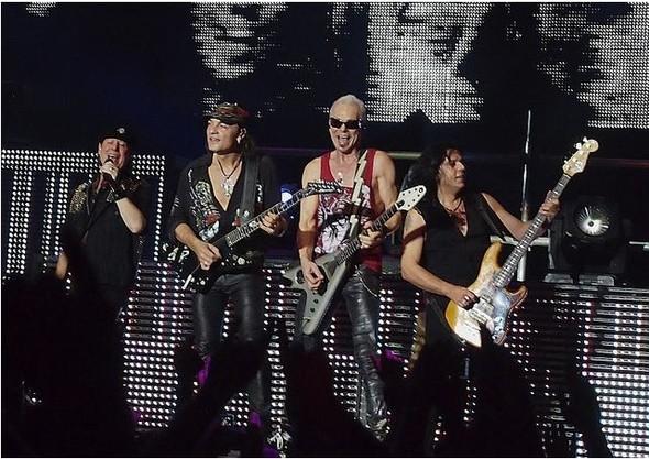 17 апреля концерт легендарной рок-группы Scorpions. Изображение № 1.