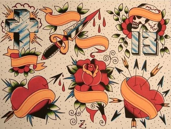 Tattoo Flash. Изображение № 3.