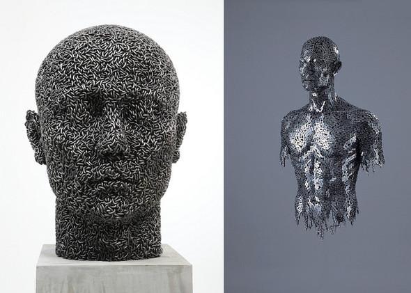Скульптуры из цепей от Yeong-Deok Seo. Изображение № 19.
