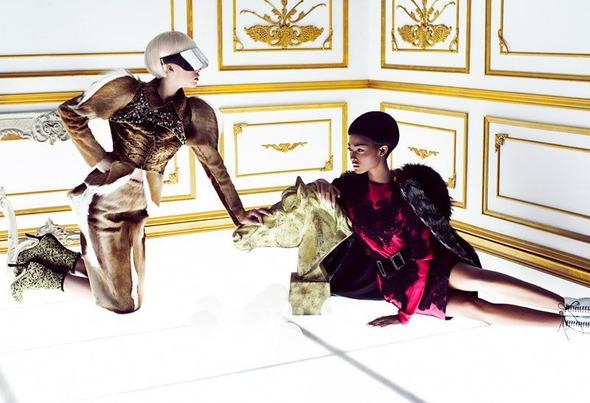 Новые съемки из Dazed & Confused, Love и Vogue. Изображение № 31.