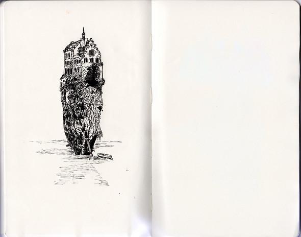 В тонких и резких штрихах: не повседневные иллюстрации. Изображение № 8.