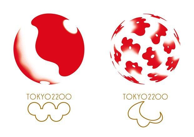 Слева — логотип для летних Олимпийских игр, справа — логотип летних Паралимпийских игр. Изображение № 1.