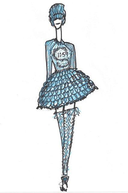 Платье Золушки Sister by Sibling. Изображение № 1.
