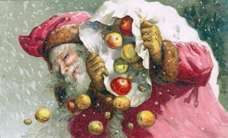 Новогодняя ирождественская открытка. Изображение № 12.