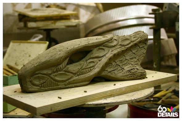 3D sculpture artist: Prokhor Kolosov (process). Изображение № 4.